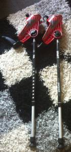 Junior forearm crutches used for ehlers danlos syndrome