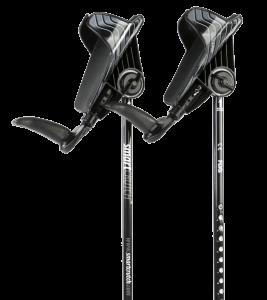black crutches from smartcrutch