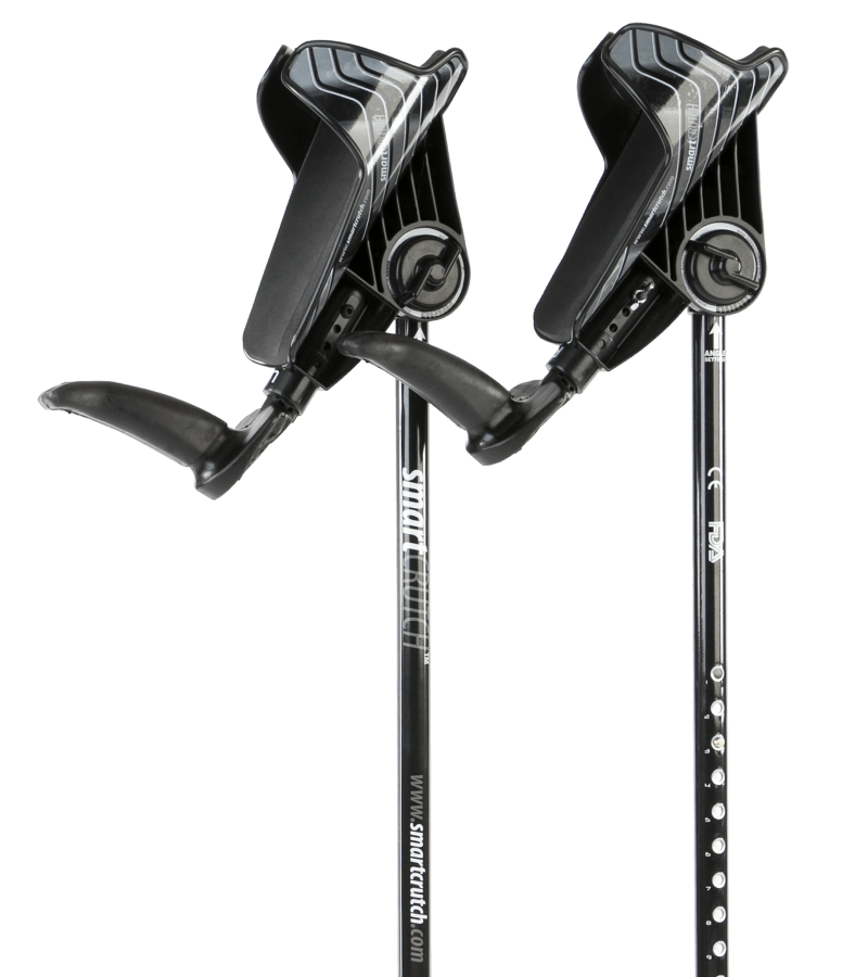 black crutches from smartcrutch