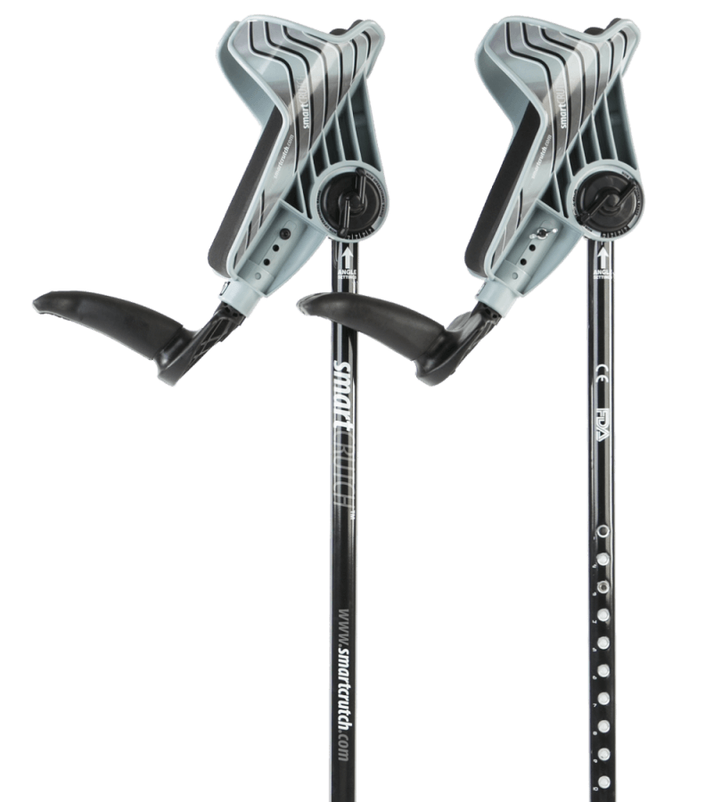 grey crutches from smartcrutch