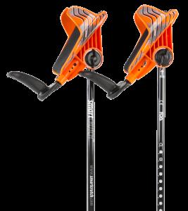 orange crutches from smartcrutch