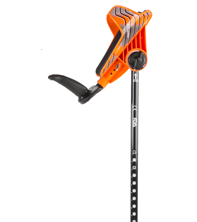 smartcrutch single orange crutch