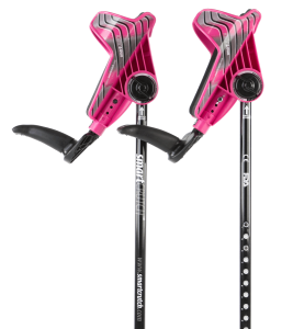 pink crutches from smartcrutch
