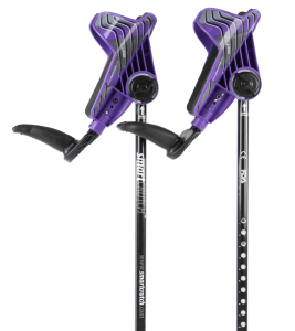 purple crutches from smartcrutch
